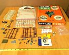 HO Scale Accessories Lot For Detailing Your Layout Fences,People,Telephone Poles