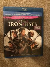 The Man With The Iron Fists Bluray 1 Disc Set ( No Digital HD)