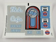 LEGO 8487 - Cars - Flo's V8 Cafe (Flo's V8 Café) - STICKER SHEET
