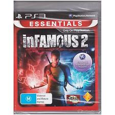 PLAYSTATION 3 INFAMOUS 2 PS3 ESSENTIALS NEW SEALED [NS]