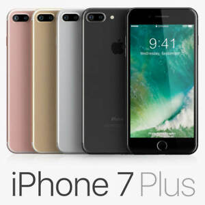 Apple iphone 7 Plus 32GB 4G LTE (Unlocked) A + 3 Months Free Service