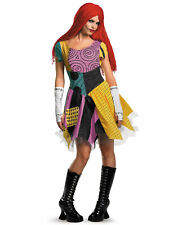 Sally Fab Deluxe Disney The Nightmare Before Christmas Ragdoll Womens Costume