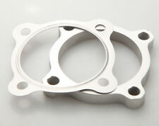 """3"""" 4 Bolt SS304 Turbo Exhaust Downpipe Flange+Gasket T4 GT35 T3/60-1 GT3582R US"""