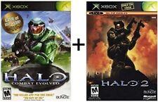 Halo: Combat Evolved & Halo 2 Xbox Games Bundle!