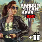 x50 Random Steam Keys Video Game CD [Fast] + Bonus [Global] Key PC Games