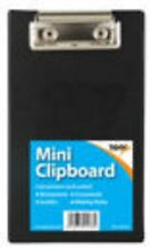 Black Mini Clipboard - Small Pocket A6 Clip Board tiger 301438