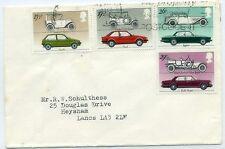 GB 1982 Cars FDC