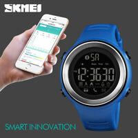 SKMEI Fashion Men's Sports Smart Watch Waterproof BT Digital Wristwatch 1396 08