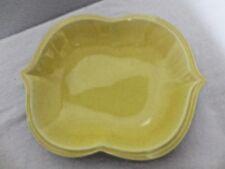 Older Cali of California Pottery Tray #30 marked-Yellows & Black