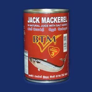Jack mackerel Tin.(Sri lankan) 425gr