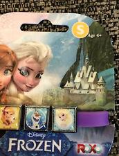 Disney Frozen Interchangeable 3 Charms Purple Strecthy Bracelet Anna Olaf Elsa