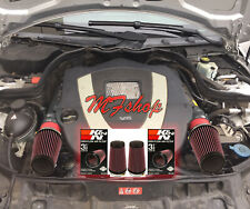 K&N Filters For Coated Red 08-12 Mercedes Benz C300 C350 3.0L 3.5L Air Intake