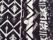 Cotton & Elastane Printed Jersey 'Hillier', (1.20m x 1.70m piece) dress fabric