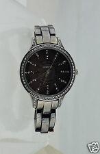 Liz Claiborne lc1127  Women Dress Charcoal Black Gunmetal Stainless Steel Watch