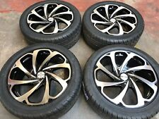 """20"""" ARROW BLACK/MACHINED ALLOY WHEELS+TYRES TO FIT VW T5 SET 4 *END OF LINE*"""