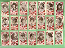 #D75. 1920s  W.D. & H.O. WILLS  SCISSORS CIGARETTE CARDS, CINEMA STARS 21 of 25