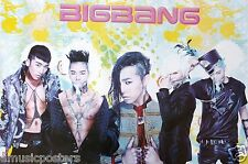 "BIG BANG ""GROUP DRESSED GLAM"" POSTER FROM ASIA - Korean Boy Band, K-Pop Music"