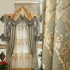 curtains luxury European luxury Jacquard Embroidery blackout curtain E213*