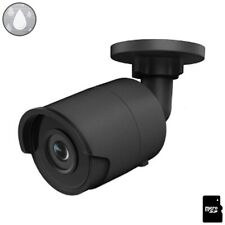4MP Mini Bullet IP Camera Home Security WiFi Wireless Matrix IR WDR PoE Black