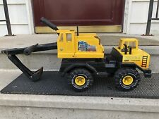 Vintage Tonka Turbo Diesel Backhoe Excavator Toy Works!