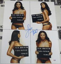 Tera Patrick Signed 16x20 Photo PSA/DNA COA FHM Magazine Mugshot Picture Poster