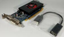 Dell AMD Radeon HD 7570 1GB GDDR5 DVI DisplayPort to HDMI Adapter Windows 10 SFF