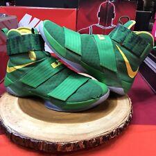 Nike Lebron Soldier X 10 Oregon Ducks Promo Sample Size 15 PE Green Jordan XI