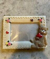 Teddy Bear Photo Frame 4x6