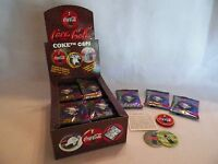 1995 Coca Cola Coke Caps 36 Unopened Pack Box Trading Card Sealed Collector