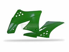 KAWASAKI KXF Radiator Scoops KXF 450 F 09 - 11 Green