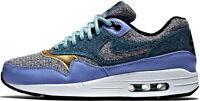 Scarpe Uomo Donna Azzurro/Nero/Bianco/Oro Nike Sneakers Men Woman Light Blue/Bla