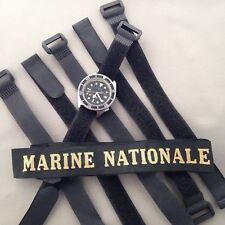 Bracelet Marine Nationale pour montre Tudor Auricoste ZRC MN Doxa X Long Size