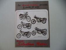 advertising Pubblicità 1980 SILENTIUM e BENELLI 654/504/125 SPORT/DUCATI 900 SD