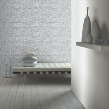 rustique Papier Peint Brique - Gris - Arthouse 889606 Wall