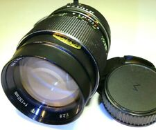 Carenar 135mm f2.8 Lens Telephoto manual focus for MD MC mount Minolta SRT