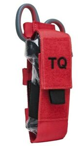VISM Tourniquet & Tactical Shear Pouch MOLLE Medic Gear First Aid Responder RED-