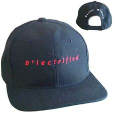 CLINT BLACK D LECTRIFIED LOGO BLACK BASEBALL HAT CAP NEW OFFICIAL ELECTRIFIED