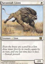 MRM FRENCH Lions des savanes - Savannah Lions MTG magic 8-9TH