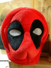 Marvel Maskimals Deadpool Red and Black Plush Oversize Head Costume Halloween