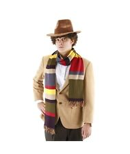 Doctor Who 4th Doctor Knitted 6 Foot Long Scarf Officially Licensed NEW BBC