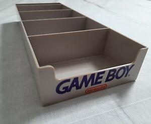 Vintage Official Nintendo Game Boy Box Retail Display Unit Stand, Rare, USA Made