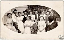 RPPC Family Reunion/Happy Occasion/ Upper Midwest USA c 1915