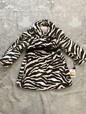 I PINCO PALLINO lamb Leather Fur Zebra Coat For 5 Y Old Girl