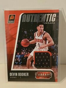 2018-19 PANINI THREADS DEVIN BOOKER AUTHENTIC THREADS JERSEY