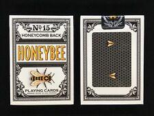 Honeybee v1 Black Playing Cards Randy Butterfield & Penguin Magic USPCC printed