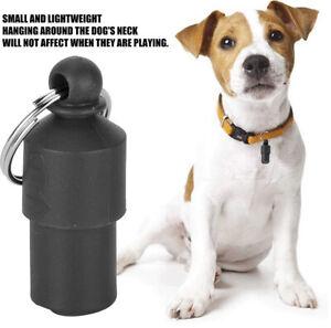 Pet ID Name Address Label Tag Pet Identity Card ID Tube BLACK Cat Dog