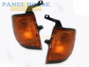 Corner Indicator Lights PAIR fits Ford Courier PE Ute 99-02