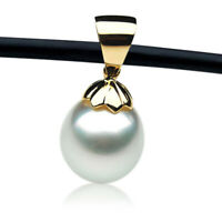 New 14mm Australian South Sea Pearl Pendant Gold Pacific Pearls® Christmas Gifts