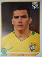 Panini 489 Lucio Brasilien FIFA WM 2010 Südafrika