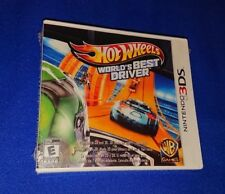 LOW PRICE RARE NEW Nintendo 3DS 2DS XL Hot Wheels World's Best Driver Trilingual
